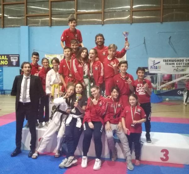 12 medaglie d'Oro, 4 Argento e 3 Bronzo, successo per il Centro Taekwondo Celano al XVIII Campionato Interregionale D'Abruzzo