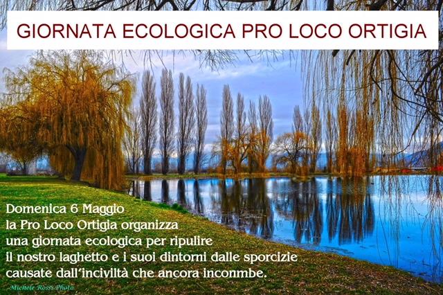 Domenica 6 maggio la pro loco Ortigia organizza giornata ecologica per ripulire il laghetto di Ortucchio