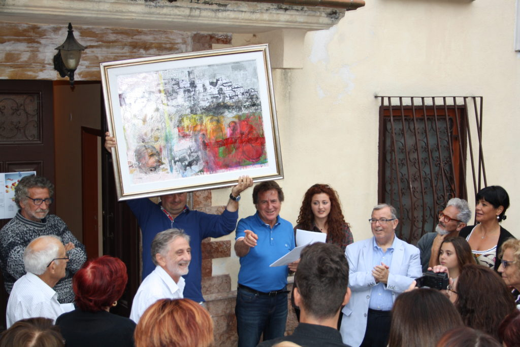 """Successo per la 1^ edizione del concorso di pittura estemporanea,""""Veronica Gaia ed i luoghi della memoria """""""