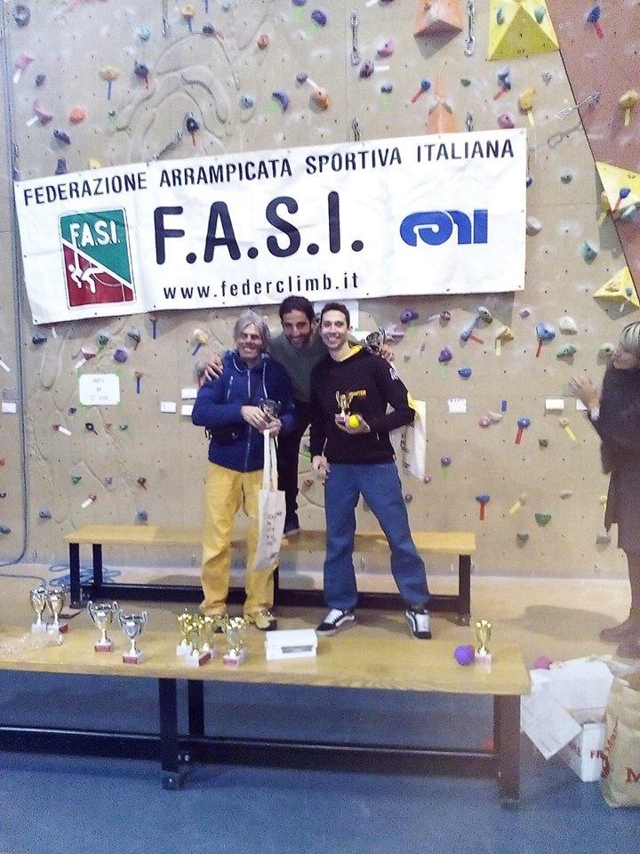 Il marsicano Federico Di Felice campione italiano di Para/Specialclimbing Lead