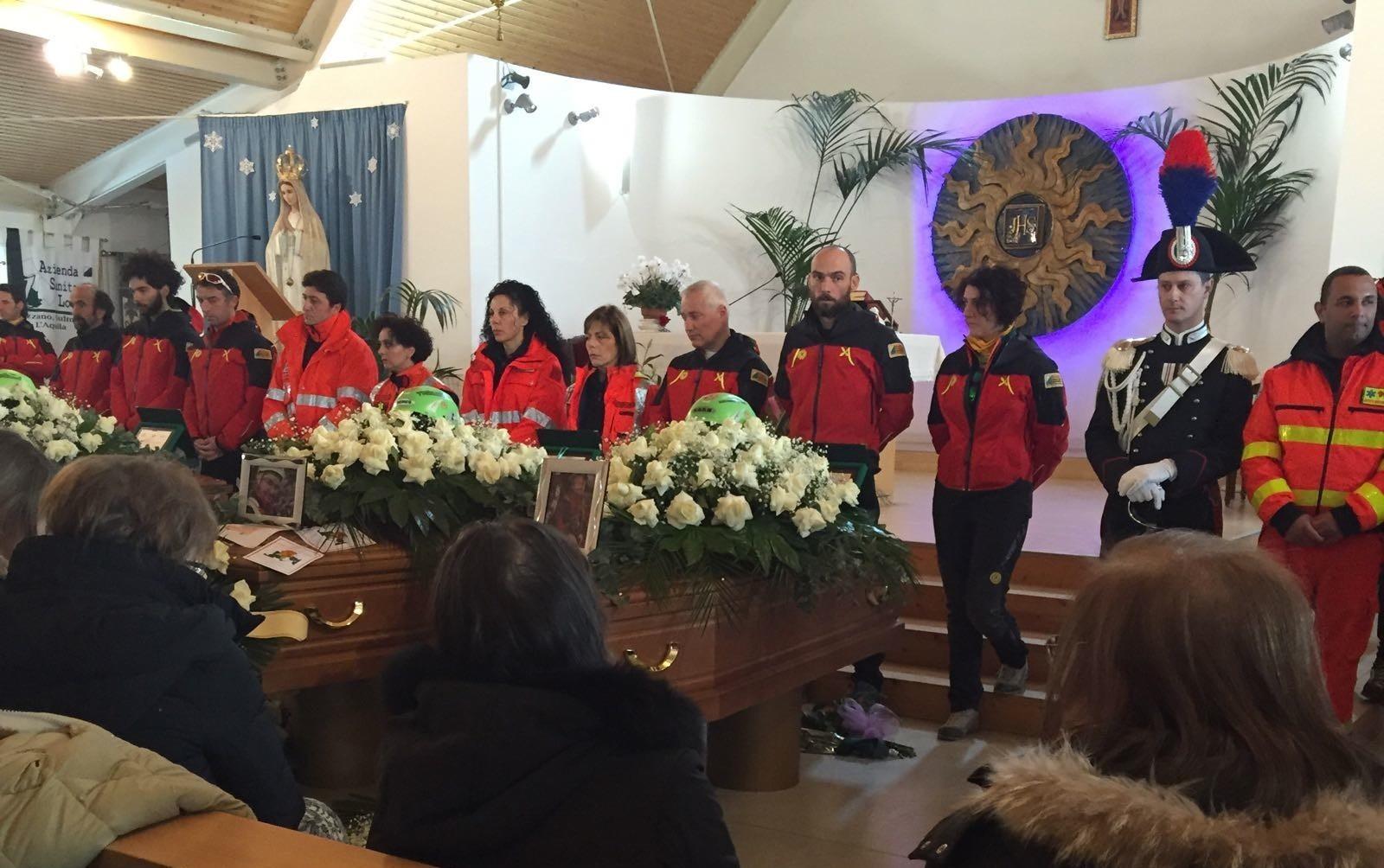 Oggi i funerali delle vittime dell'elicottero del 118 caduto, atteso anche il ministro Pinotti