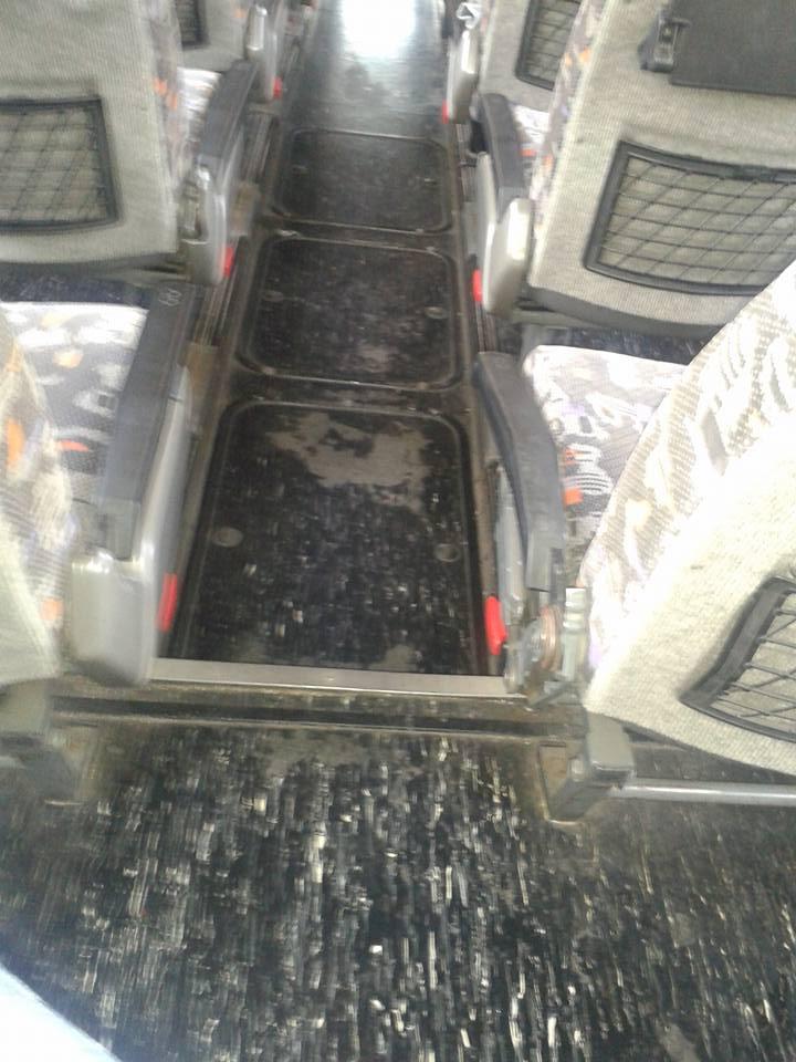 "Avezzano, autobus Arpa sporco: ""E' una vergogna"""