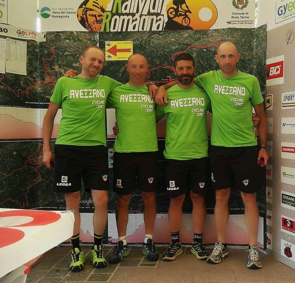 Rally di Romagna: ottimi risultati degli atleti dell'Avezzano Cycling Team