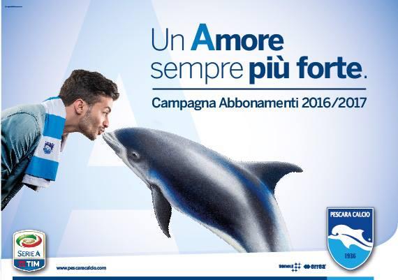L'avezzanese Alessandro Scafati è il nuovo volto della campagna abbonamenti 2016/'17 del Pescara calcio