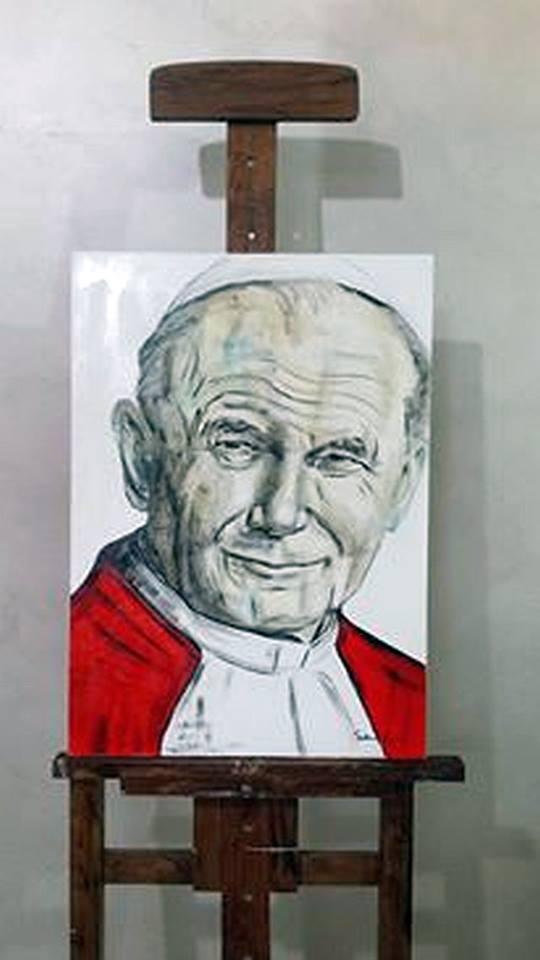 Artista marsicana mette all'asta un quadro per beneficenza