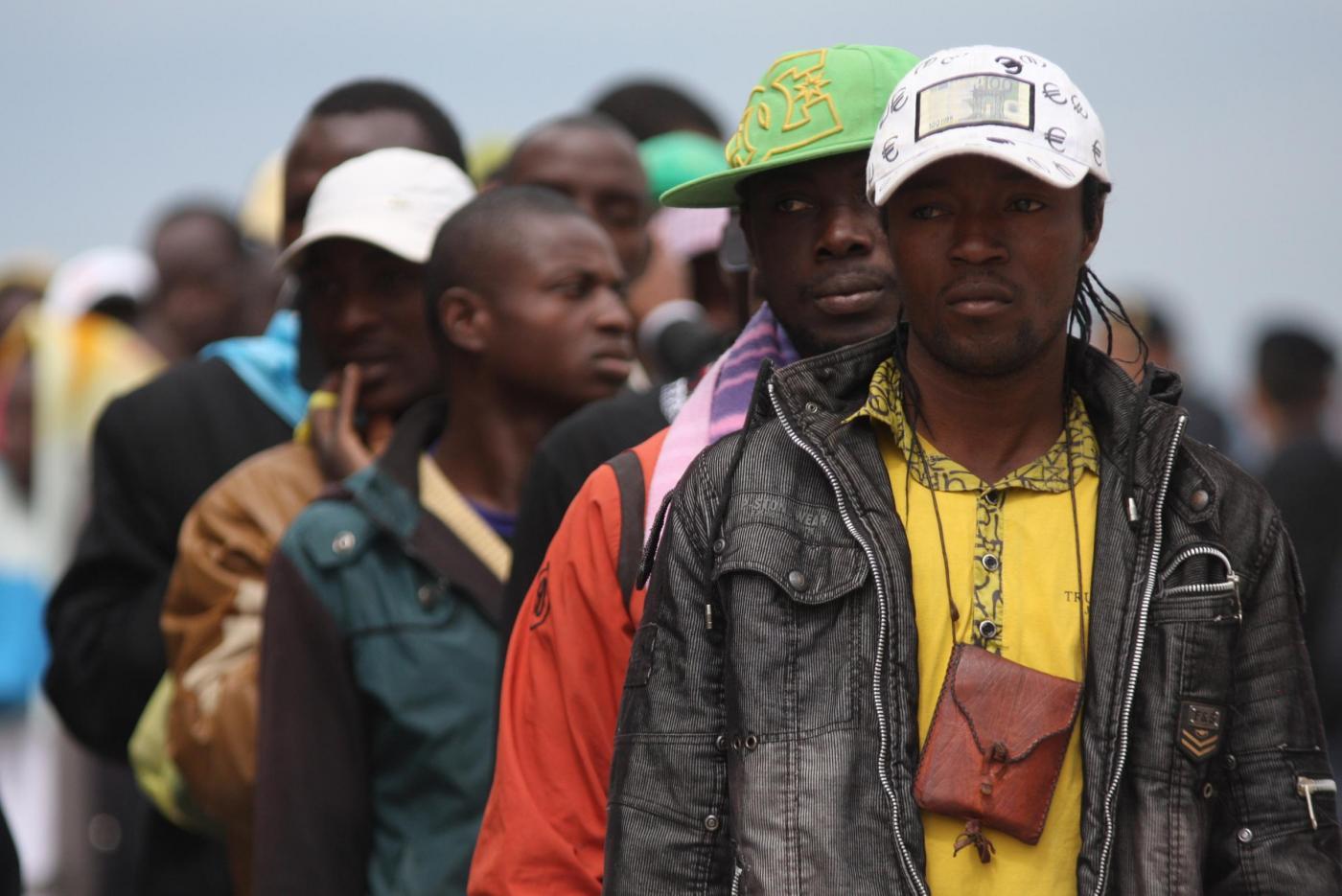 Accoglienza profughi, protesta di Forza Nuova