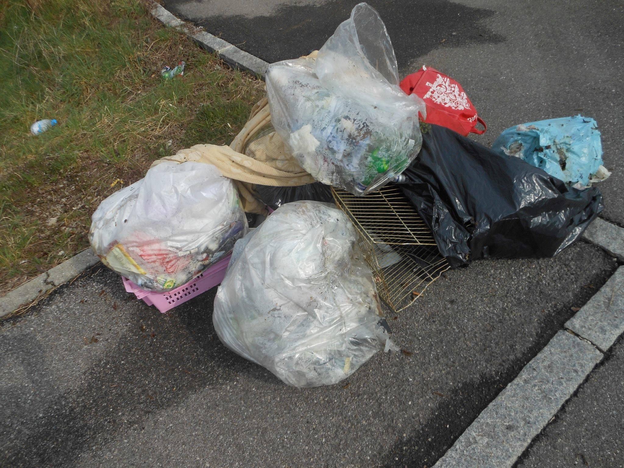 Avezzano, 18mila chili di immondizia abbandonati in aree della città