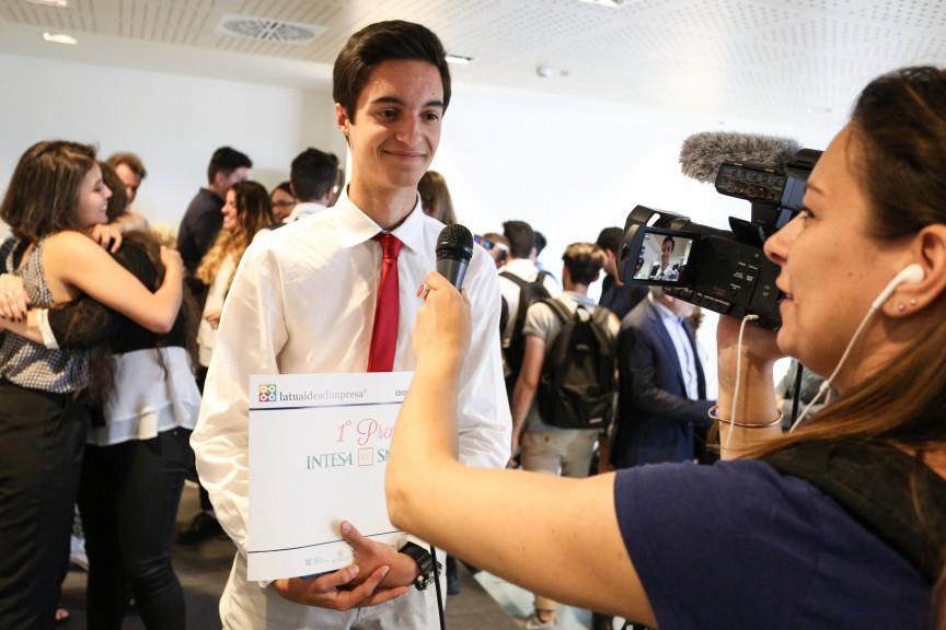 """L'Istituto Istruzione Superiore """"G. Galilei"""" di Avezzano vince la fase provinciale con la migliore idea di'impresa"""