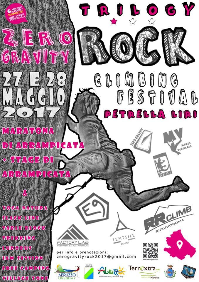 """Arrampicata, natura, festa e cultura. Tutto pronto per il """"Trilogy Rock Climbing Festival"""""""