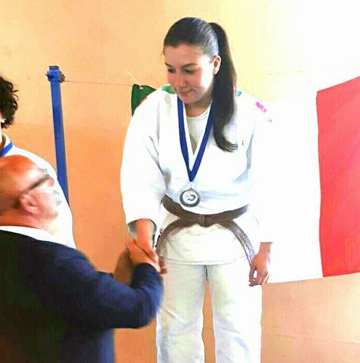 Qualificazione Campionato Italiano di Judo, giovane marsicana sul podio
