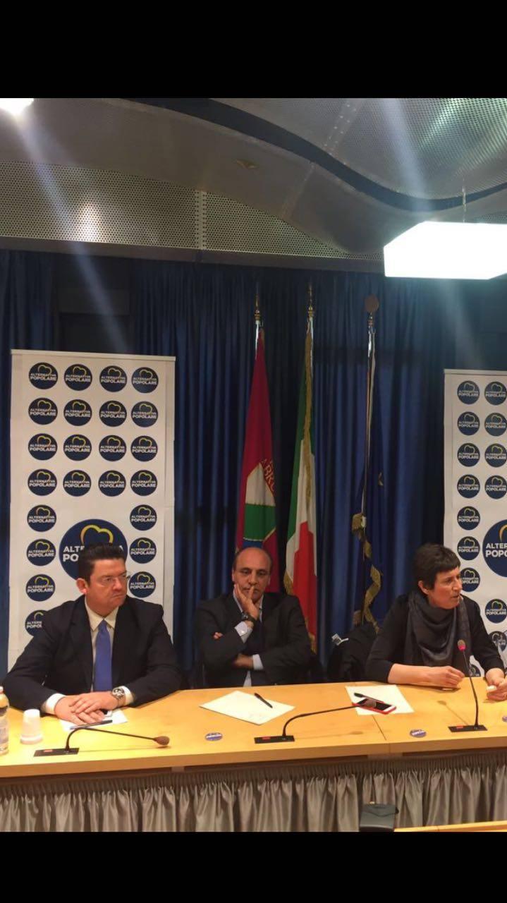 Avezzano, il sottosegretario alla Giustizia Federica Chiavaroli a sostegno di De Angelis