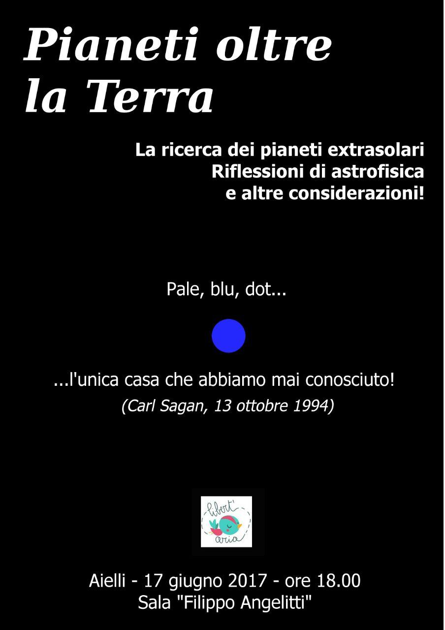 """""""Pianeti oltre la Terra"""": incontro ad Aielli con l'astronomo Paolo Maria Ruscitti"""