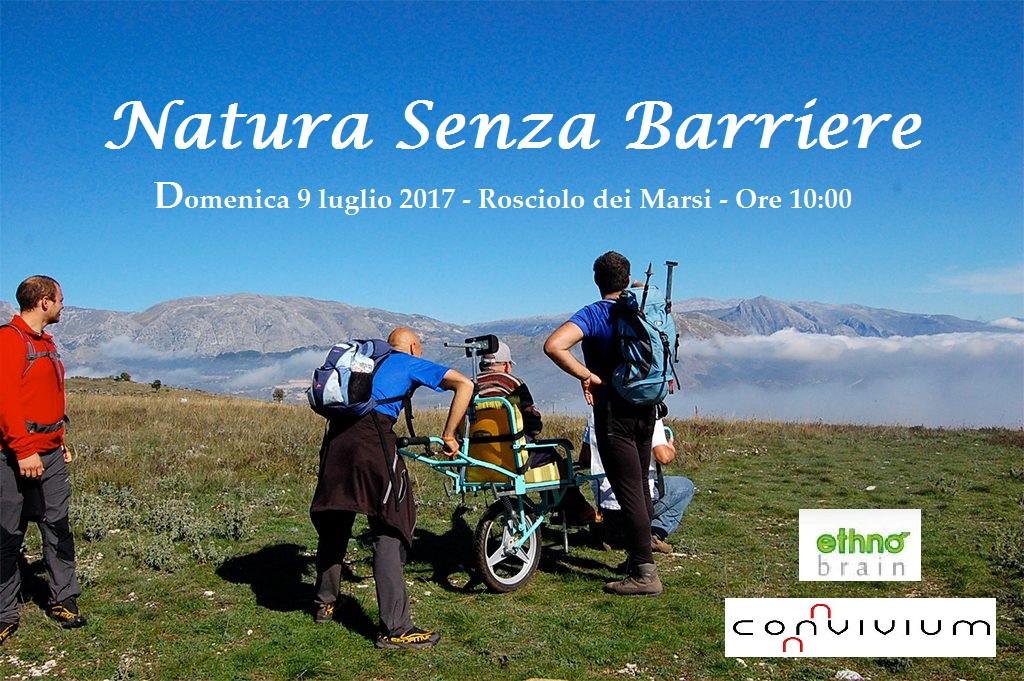 """Torna """"Natura Senza Barriere"""", giornata di escursionismo condiviso a Rosciolo dei Marsi"""