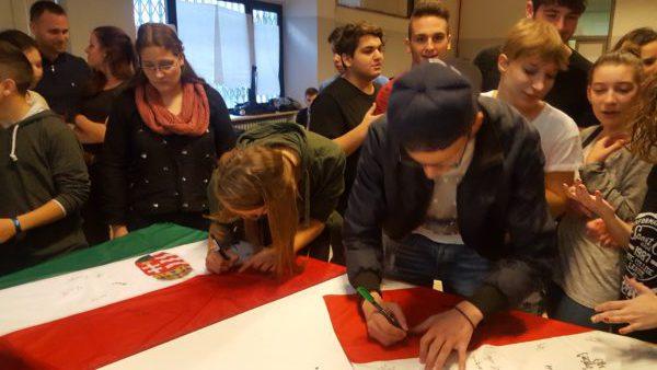 I ragazzi del Galilei ospiti dell'Istituto di Cultura italiana in Ungheria