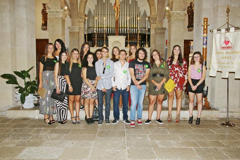 Magliano: XV Festa dei diciottenni con il gruppo Fratres
