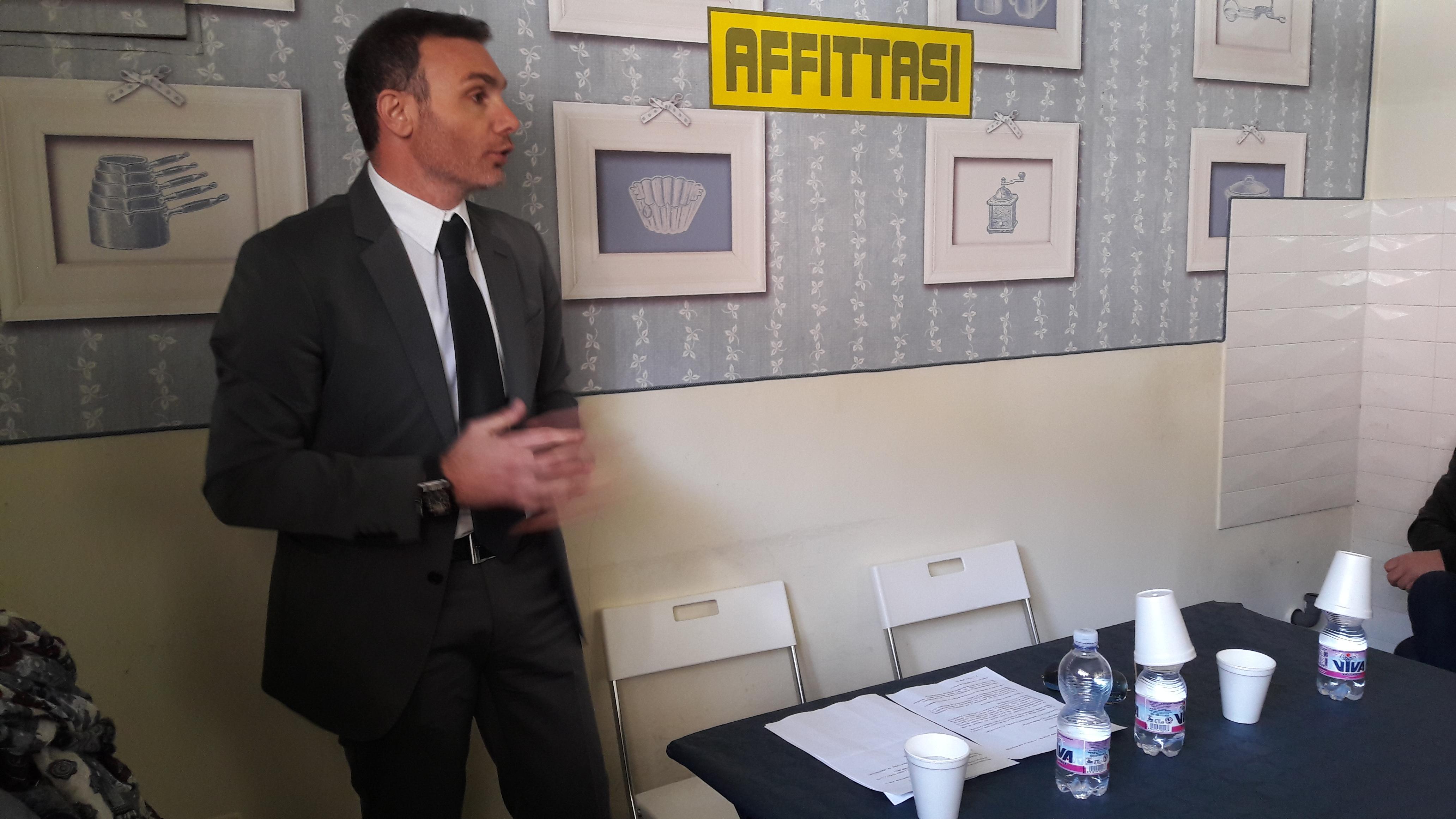 Domenico Venditti correrà con Gabriele De Angelis, presentate le dimissioni dalla Confesercenti