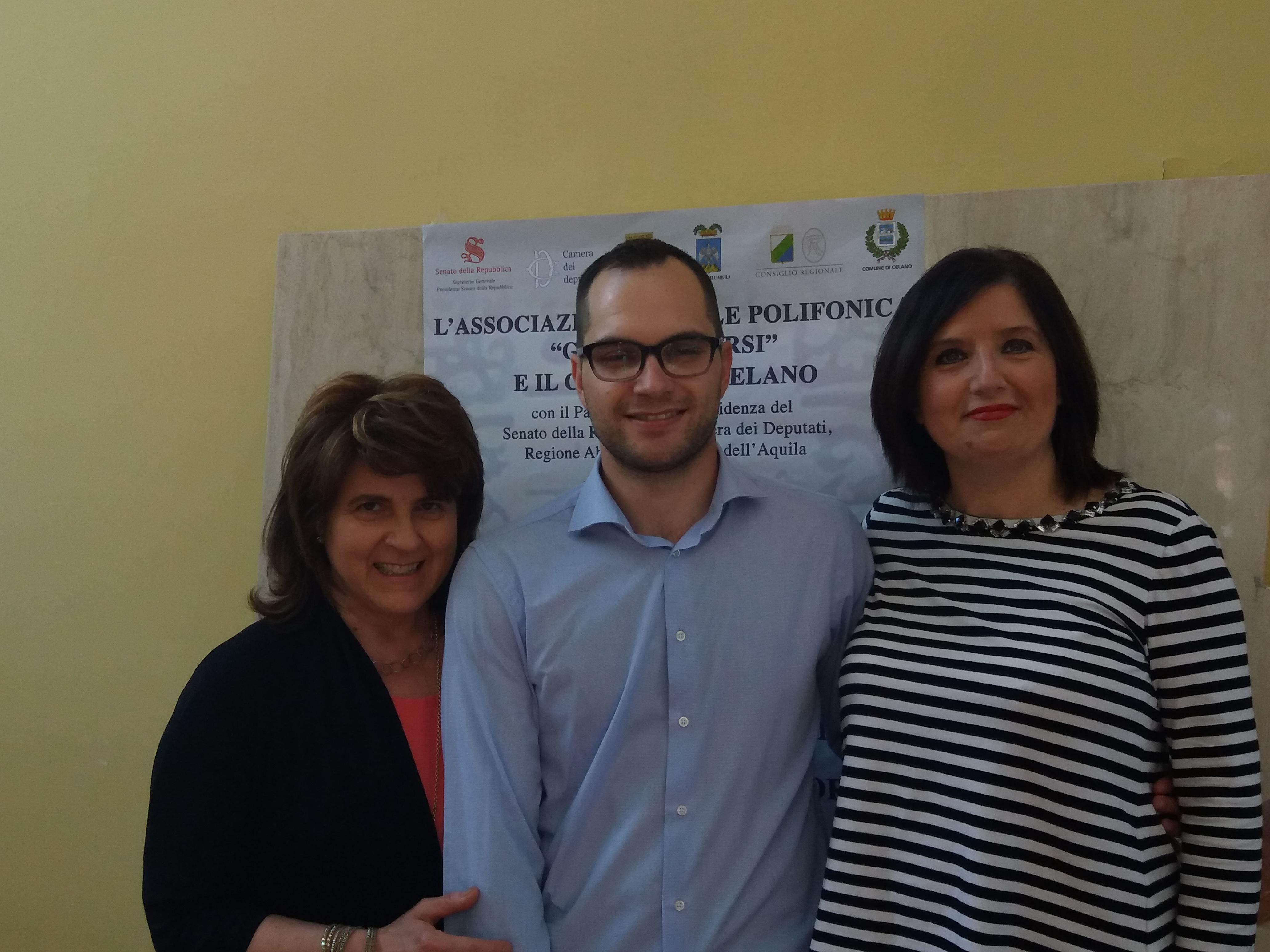 """Quinta edizione del Premio """"Giuseppe Corsi Città di Celano"""""""