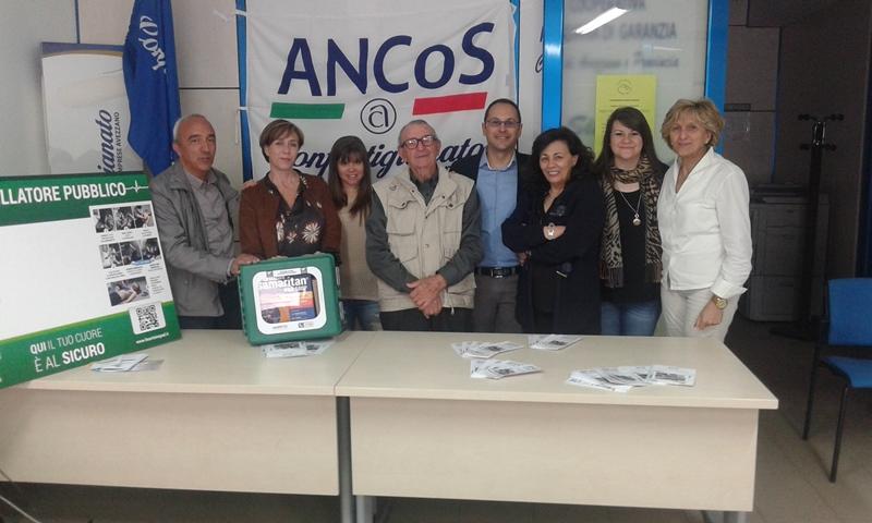 Avezzano, Confartigianato Imprese riceve defibrillatore da ANCoS/Anap