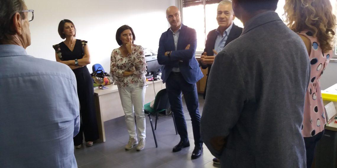 Inaugurata nova sede ufficio di collocamento a Celano ...