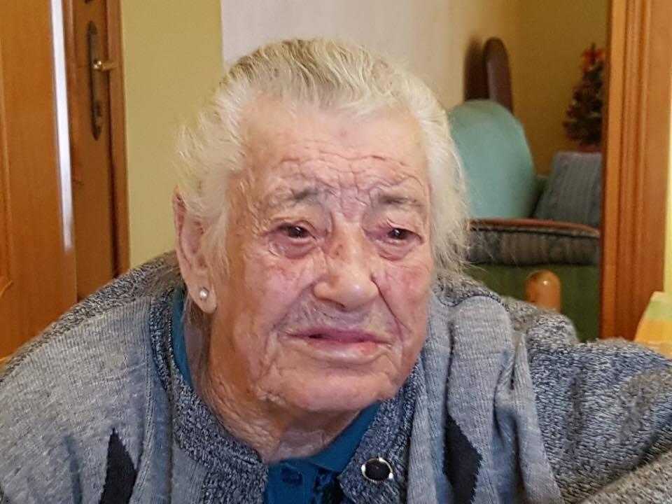 Collelongo, si è spenta a 103 anni Annunziata Ranalli. Il cordoglio del sindaco