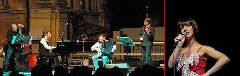 """Celano, concerto di Antonella Gentile e """"Tanguedia Quartet"""" in occasione dei dieci anni di attività"""