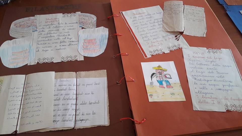 """""""C'era una volta un lago"""", le opere degli studenti dell'Istituto Comprensivo Collodi Marini in mostra al Comune"""