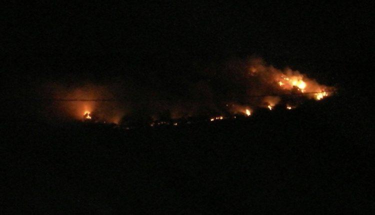 """Incendio Collelongo, il Sindaco: """"Costo delle operazioni di spegnimento supera il milione di euro"""""""