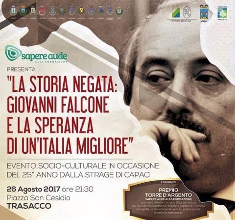 A Trasacco una serata in memoria di Giovanni Falcone