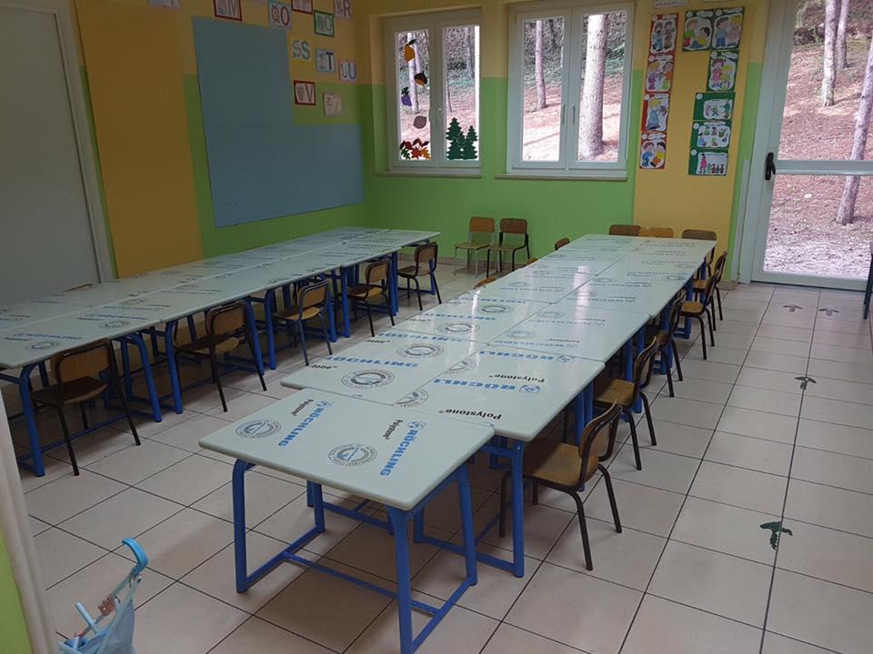Banchi a cellula di sicurezza per le scuole di Celano | VIDEO