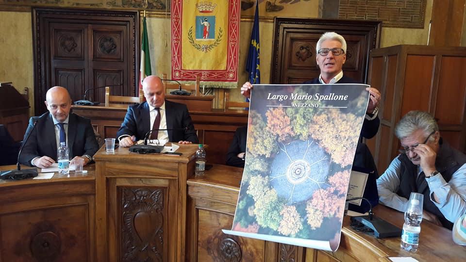 Avezzano rende onore a Mario Spallone
