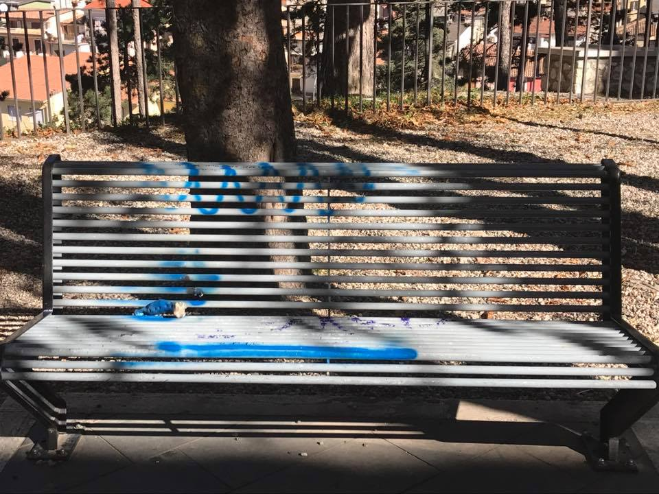 Celano: maggiori controlli e videosorveglianza contro il vandalismo