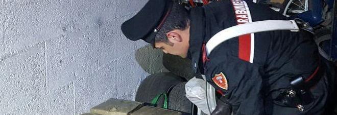 Traffico di droga tra la Marsica e l'Umbria: sequestrati 58 chili di hashish