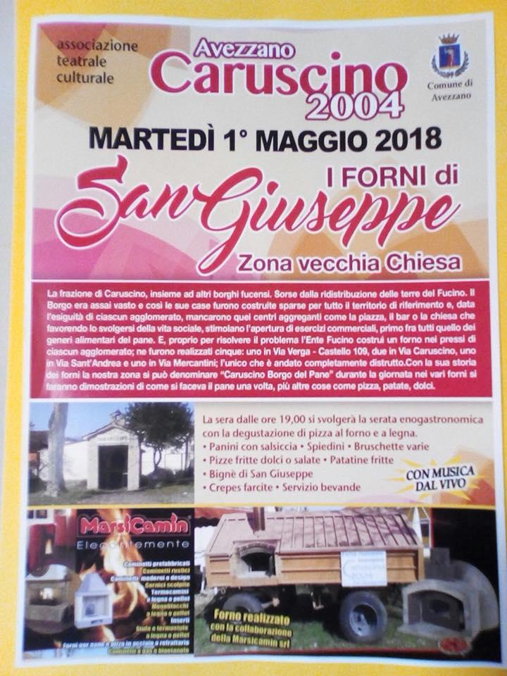 Caruscino : i forni di San Giuseppe