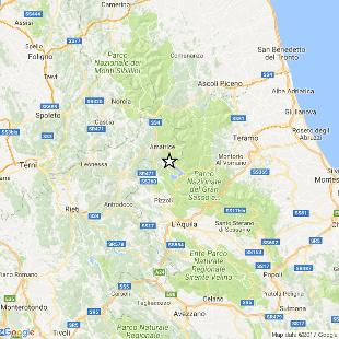 Terremoto, scossa di magnitudo 3.9