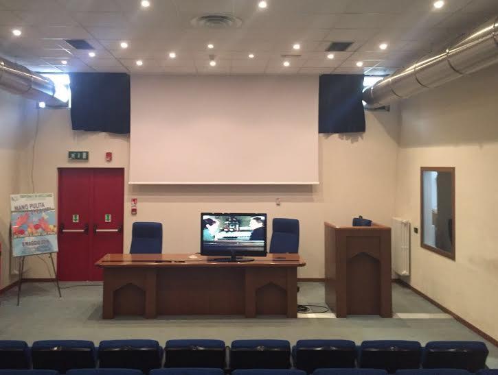 Ospedale di Avezzano: i degenti seguono oggi la Nazionale di calcio da una tv installata in sala riunioni