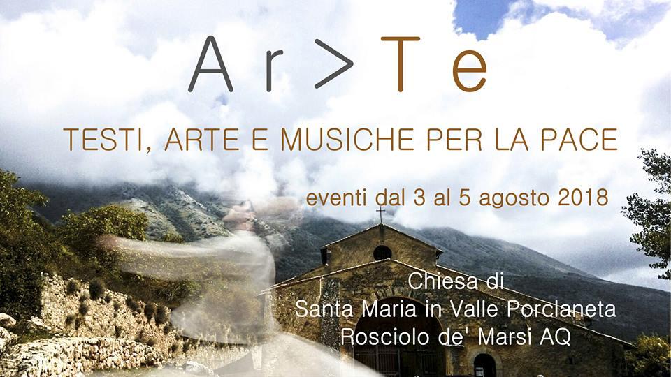 Ar>Te, tre giornate di conferenze, mostre e laboratori volti a rappresentare l'incontro tra culture e arti