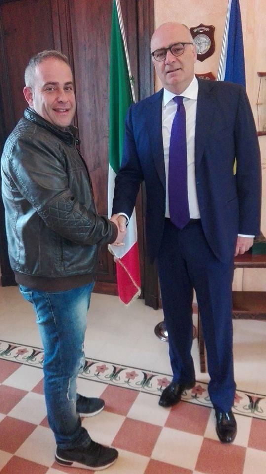 Ricevuto dal sindaco il presidente Comitato di quartiere di Caruscino