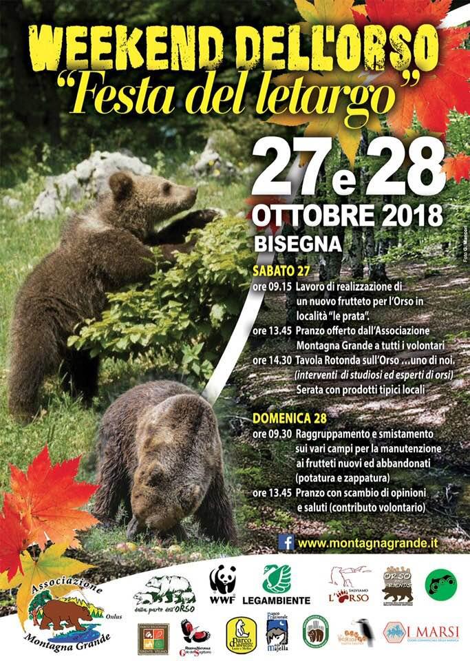 Weekend dell'orso, festa del letargo