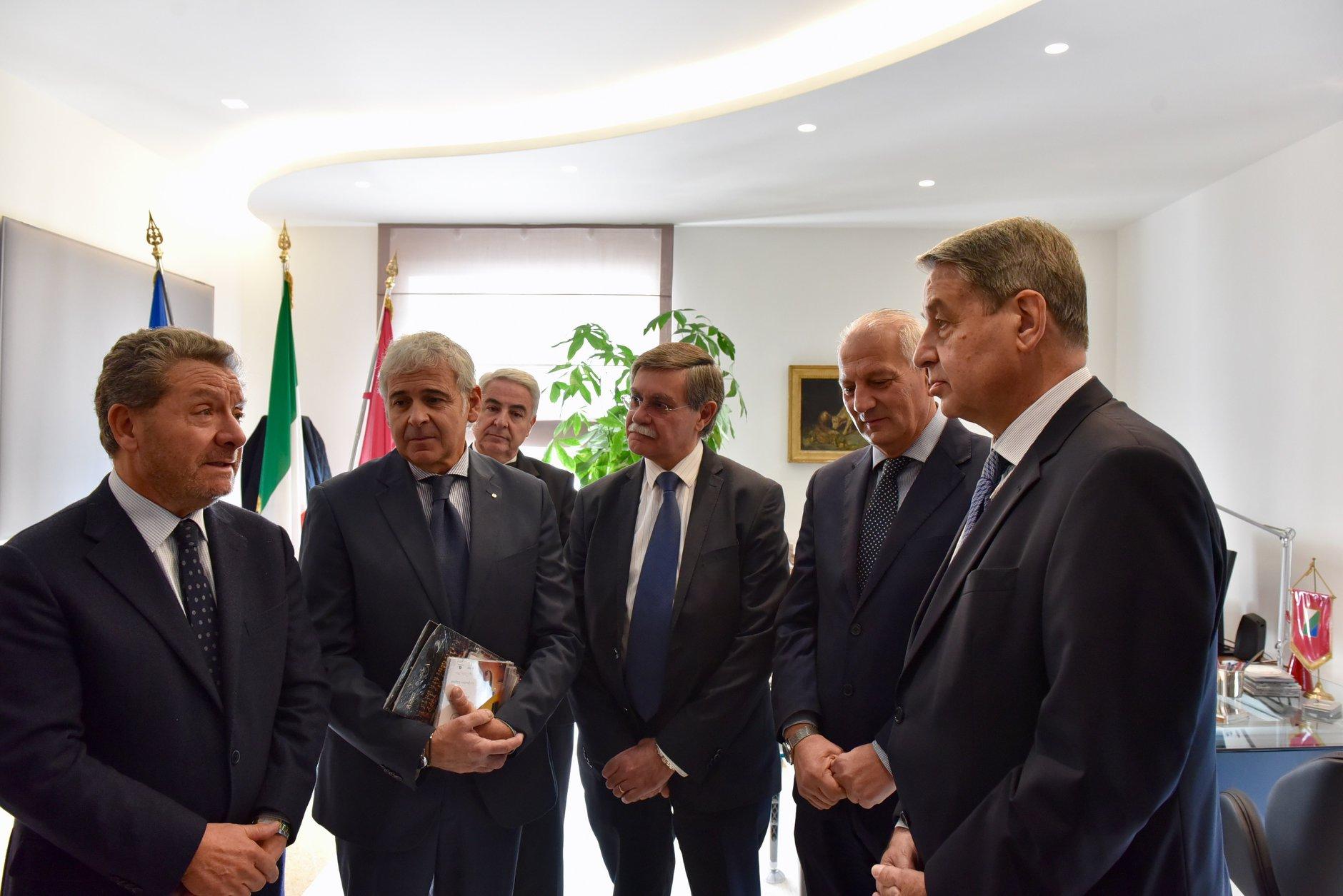 """Visita dell'ambasciatore della Federazione Russa Alexander Avdeev presso la Santa Sede, Di Pangrazio """"legame più forte dopo il terremoto"""""""