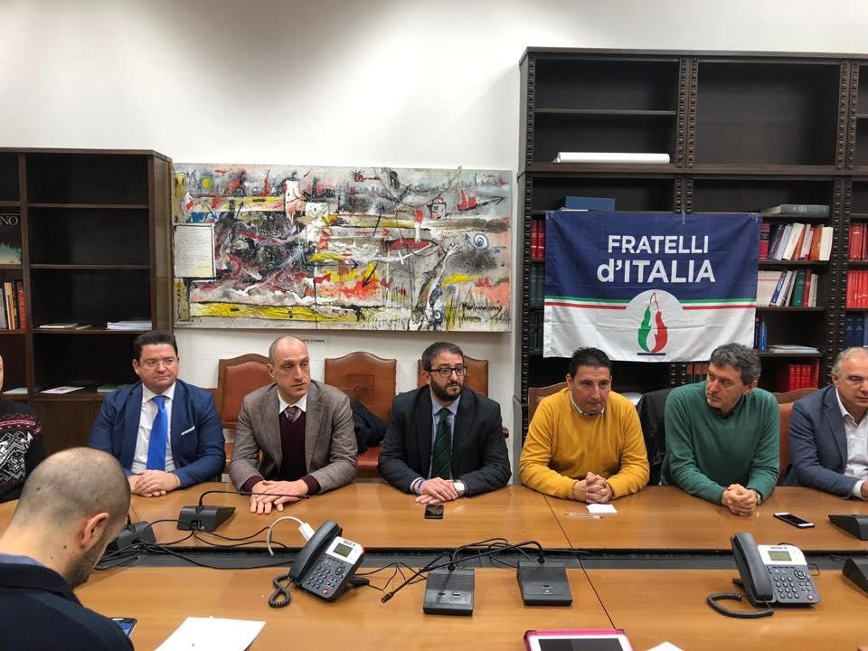 Massimo Verrecchia ufficializza l'adesione per Fratelli D'Italia