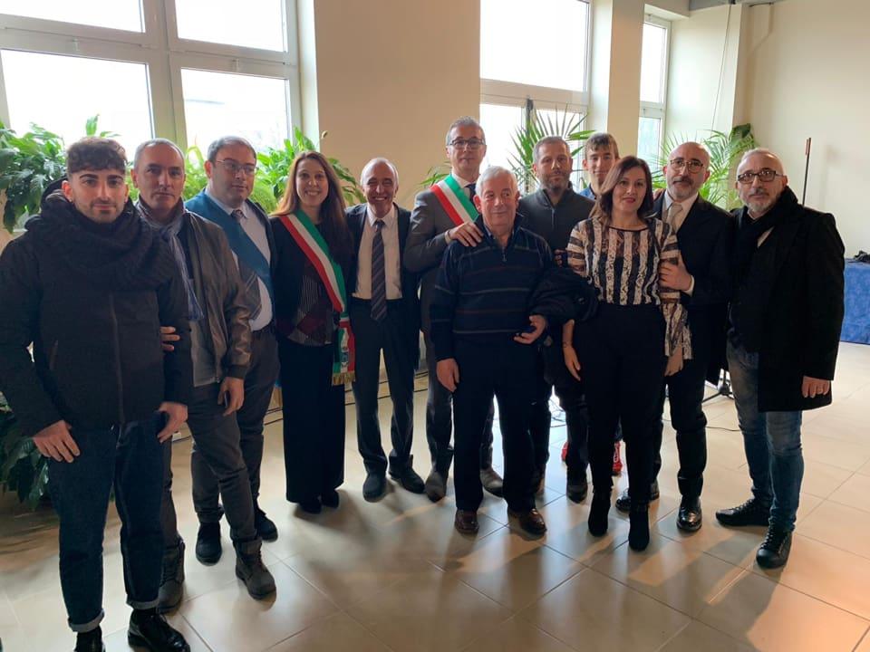Tre aziende artigiane di Pescina premiate dalla Camera di Commercio di L'Aquila per la fedeltà al lavoro