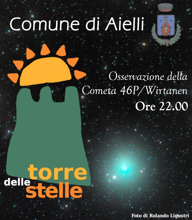Appuntamento alla Torre delle Stelle di Aielli per osservare la cometa di Natale