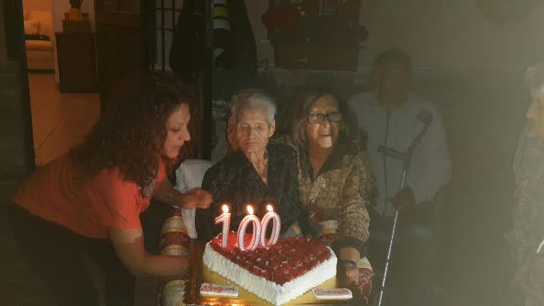 Cento candeline per la signora Rosa