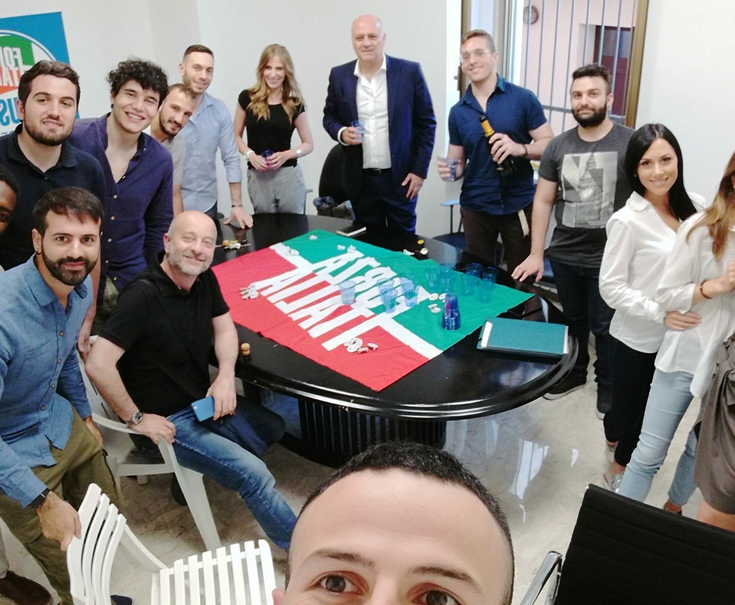 Forza Italia Giovani di Avezzano incontra il sindaco De Anfelis