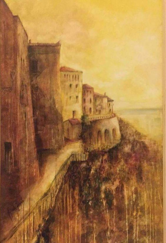 Graziella Gagliardi conquista Vasto, 1° premio all'estemporanea di pittura