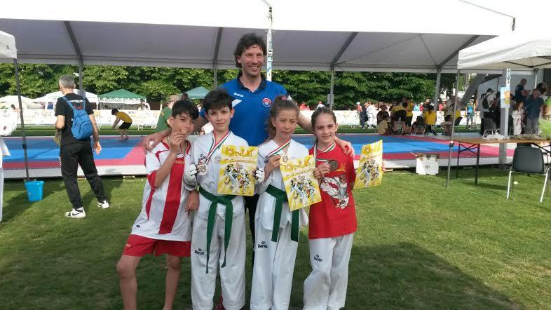 Pioggia di medaglie per gli atleti del Centro Taekwondo Celano