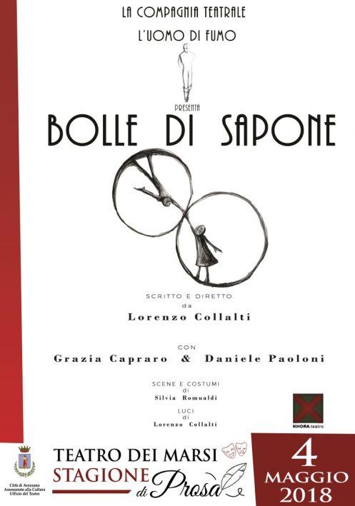 """Spettacolo """"Bolle Di Sapone"""""""