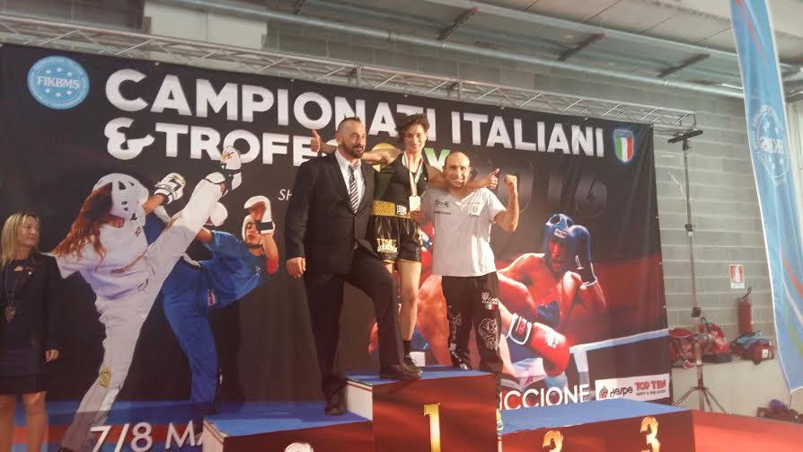 Kickboxing, Maria Ciaffone conquista la medaglia d'oro