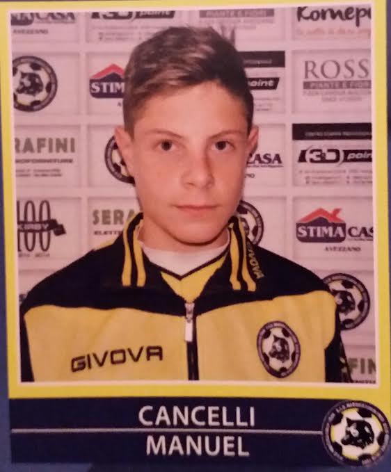 Giovanissimi regionali Abruzzo, Manuel Cancelli capocannoniere con 35 goal