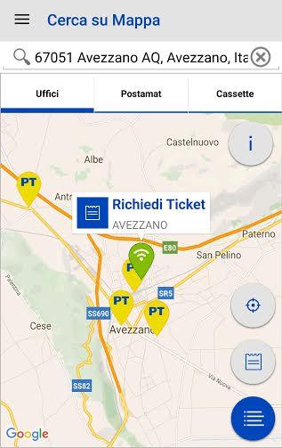 Avezzano: lo sportello delle Poste si prenota con una app